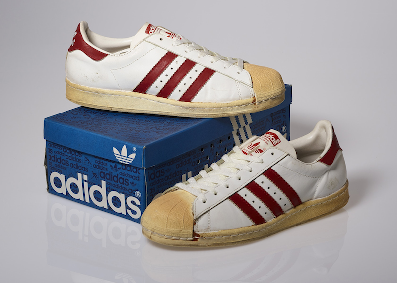 adidas Superstar White/Red (1980)