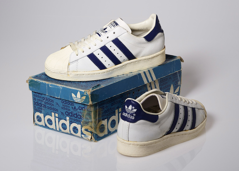 adidas Superstar White/Navy (1986)