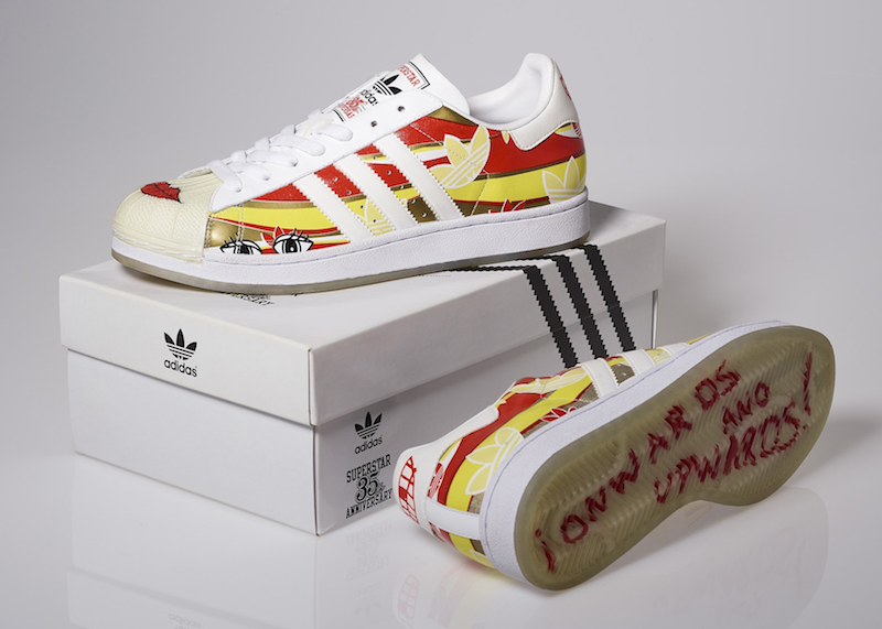 "adidas Superstar 35th Anniversary Red Hot Chili Peppers ""Flea"" Version (2005)"
