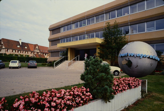 adidas France head office in the 1970s