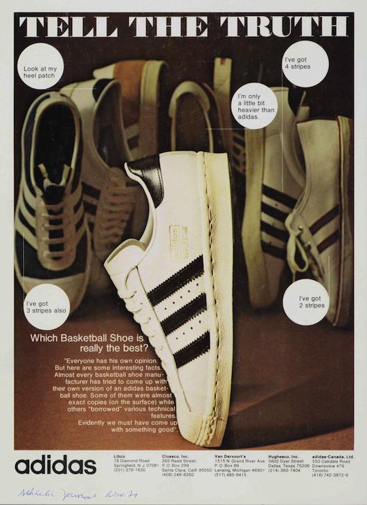 adidas Superstar ad (1972)