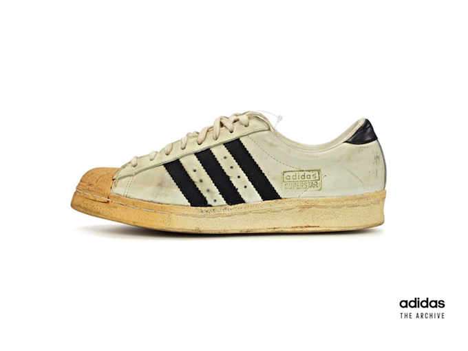 adidas Superstar original archive white and black