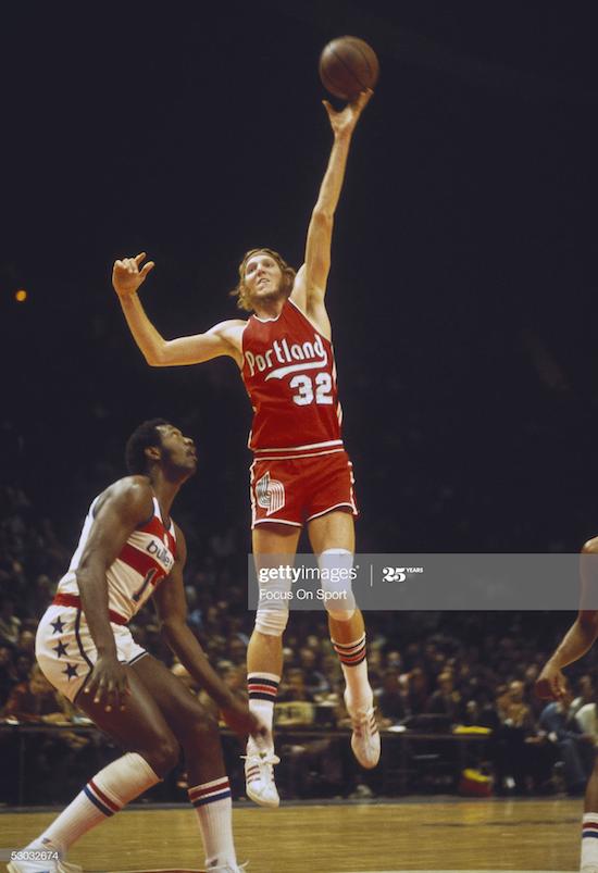 Bill Walton Portland Trail Blazers (1977)