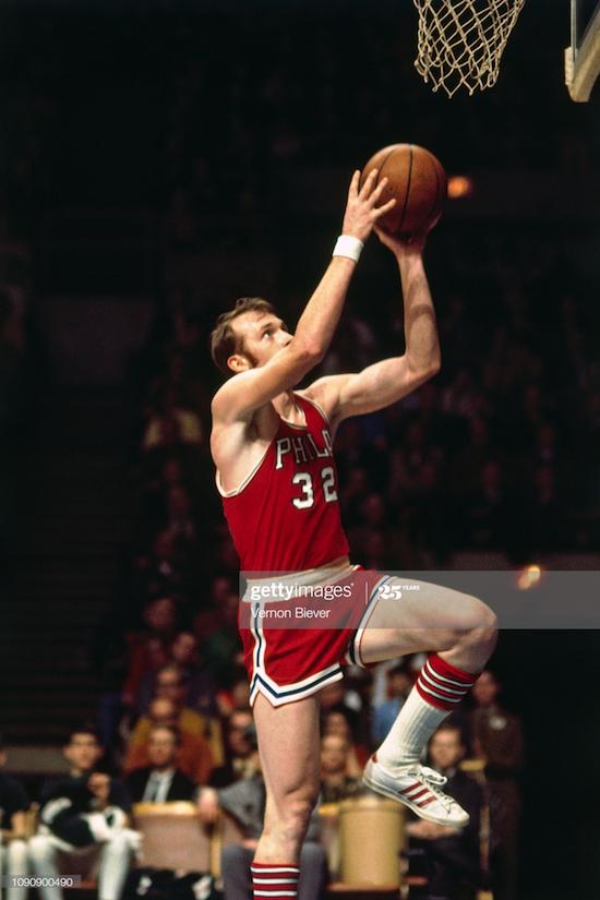 Billy Cunningham Philadelphia 76ers (1970)