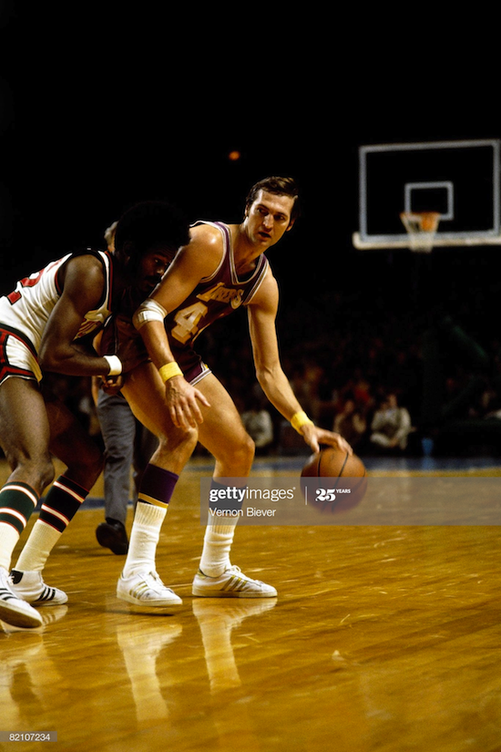 Jerry West Los Angeles Lakers (1970)