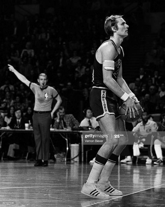 Rick Barry Golden State Warriors (1974)
